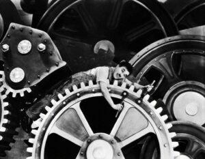 Tempos Modernos, Charles Chaplin